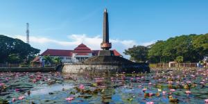 Tugu Malang, Malang City, Indonesia