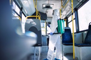 bus yang dibersihkan dari redbus