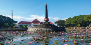 Tugu Malang, Malang City, Indonesia