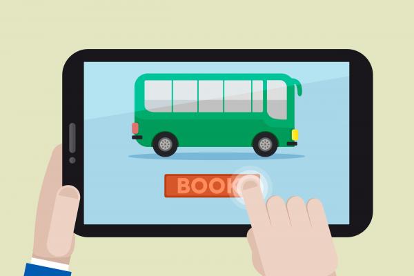 memesan tiket bus secara online
