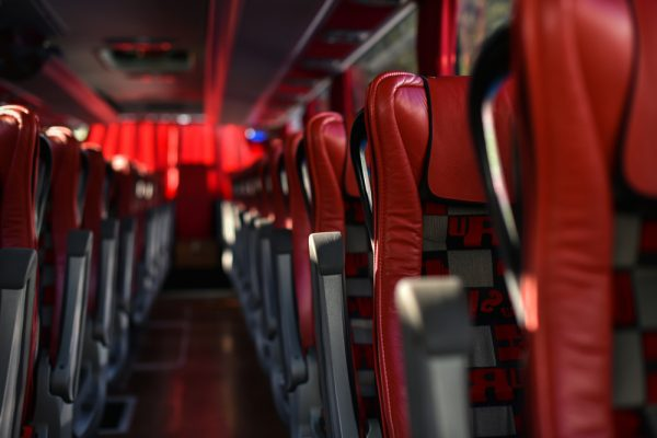 kursi penumpang bus kelas satu