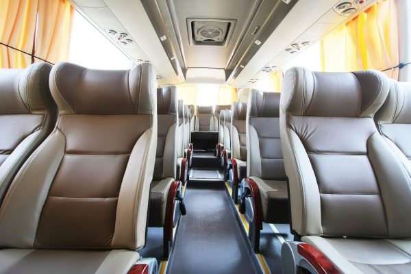Interior VIP dan Bus Eksekutif